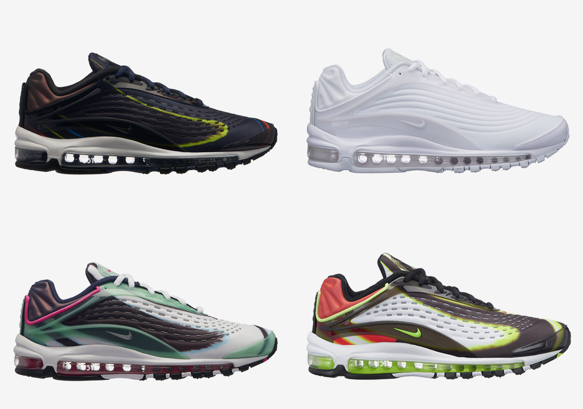 brand new b2cbf 8898c ... nike air max deluxe on foot Air max 95 no sew .. ...