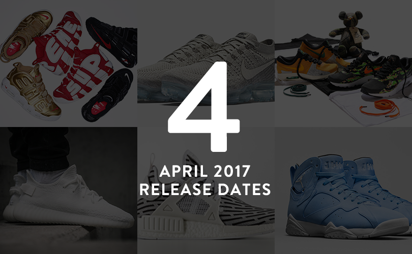 2017年4月に新発売された人気スニーカー紹介!