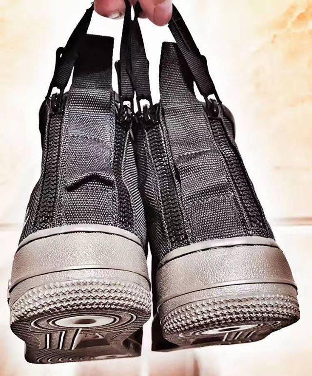 ナイキ スペシャル フィールド エア フォース 1 ミッド ブラック/ブラック-カーゴ カーキ