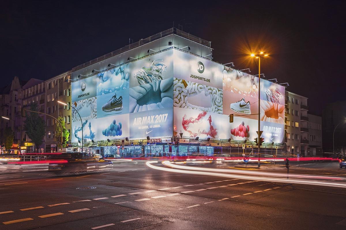NIKE Air Max2017の広告がカンヌデザイン部門で金賞を受賞!