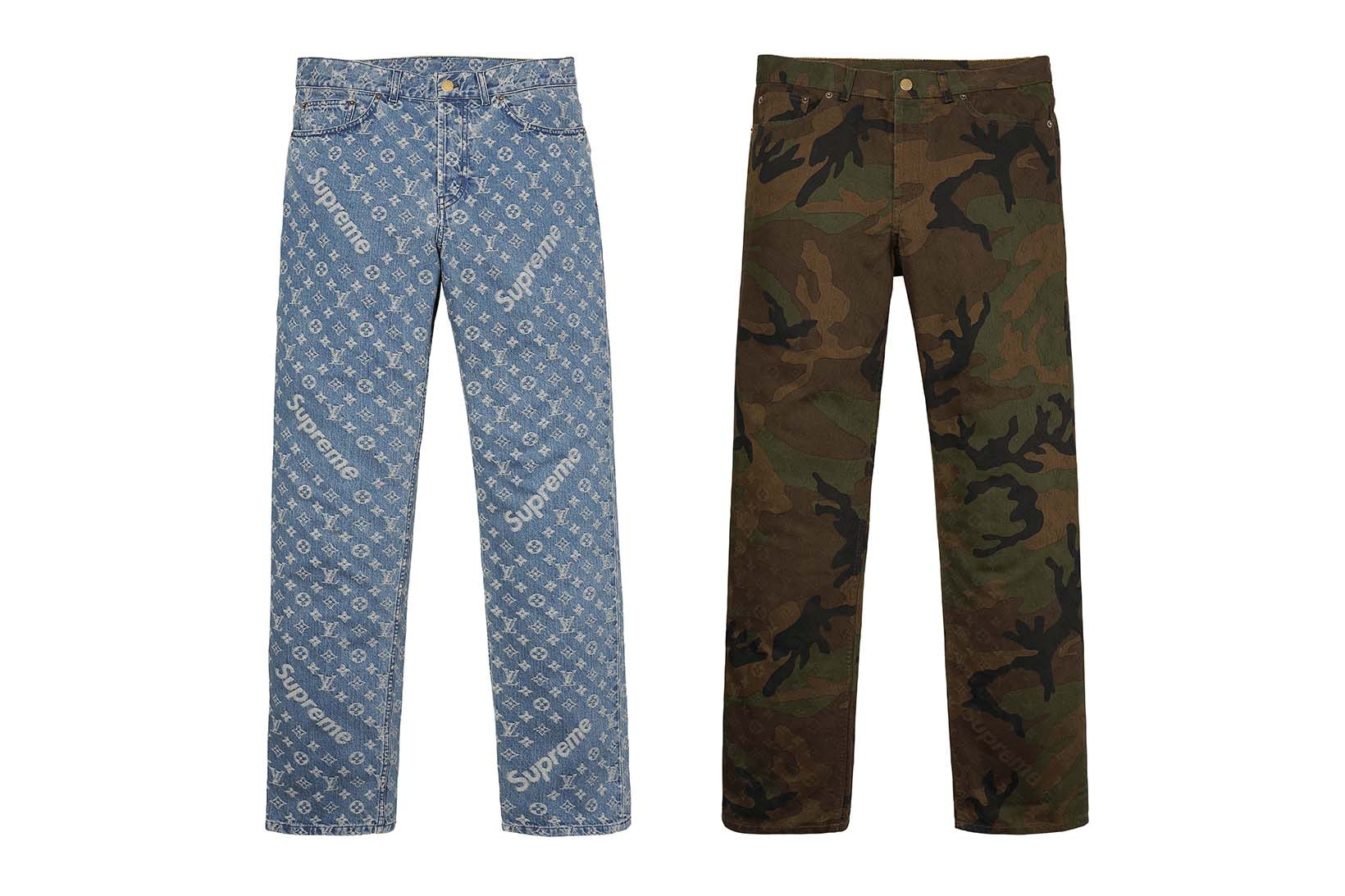 Supreme(シュプリーム)×Louis Vuitton(ルイ・ヴィトン) / ジャカード デニム 5ポケット ジーンズ(Jacquard Denim 5-Pocket Jean)