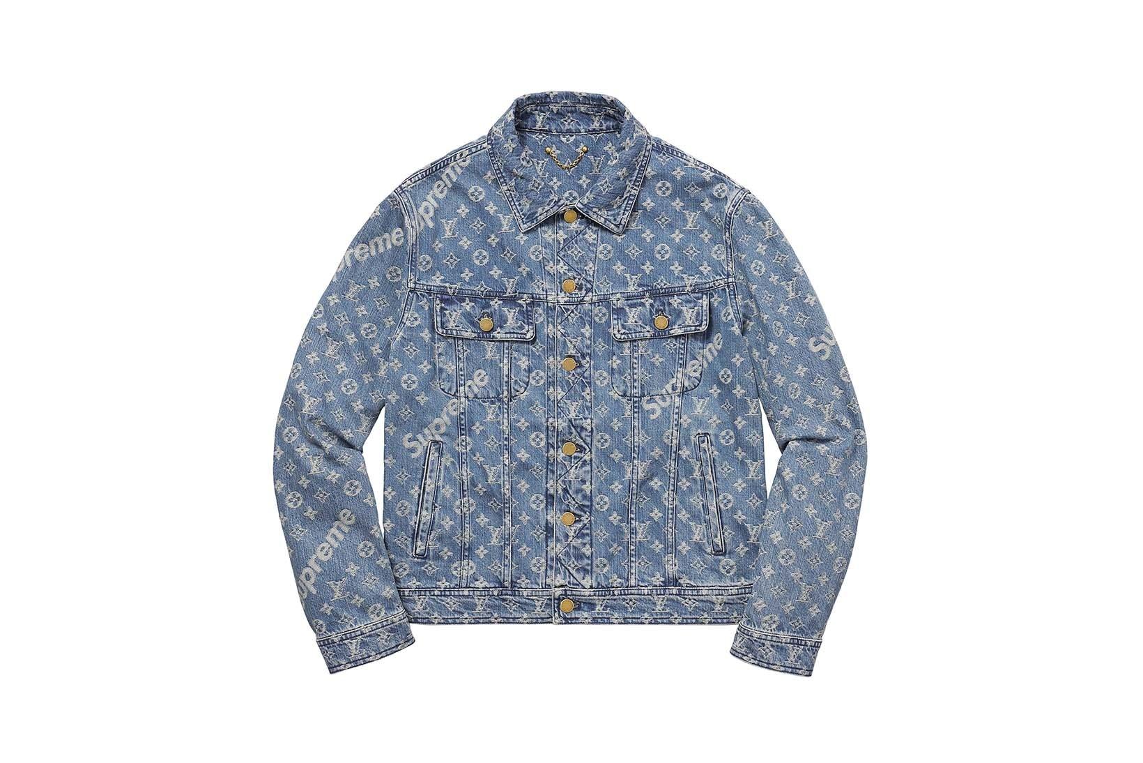 Supreme(シュプリーム)×Louis Vuitton(ルイ・ヴィトン) / ジャカード デニム トラッカー ジャケット(Jacquard Denim Trucker Jacket)