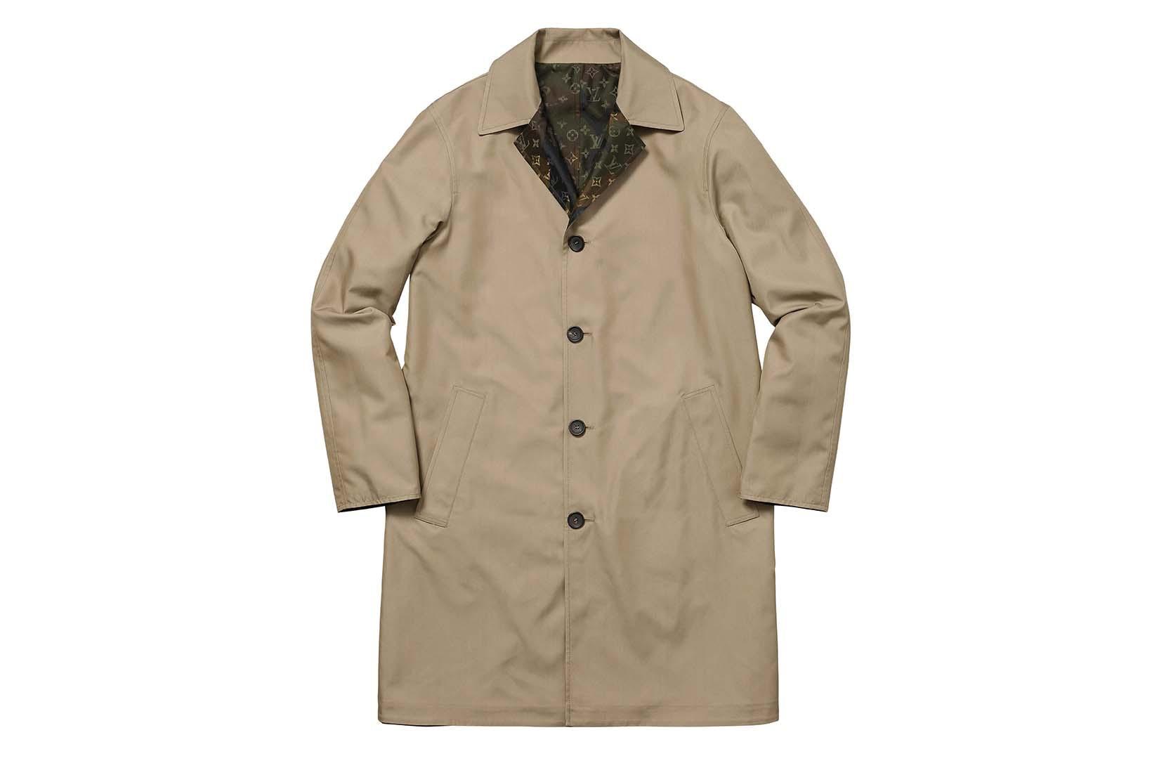 Supreme(シュプリーム)×Louis Vuitton(ルイ・ヴィトン) / リバーシブル トレンチ コート(Reversible Trench Coat)