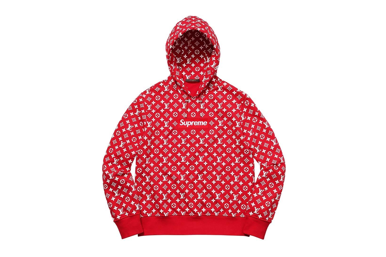 Supreme(シュプリーム)×Louis Vuitton(ルイ・ヴィトン) / ボックス ロゴ フード スウェットシャツ(Box Logo Hooded Sweatshirt)