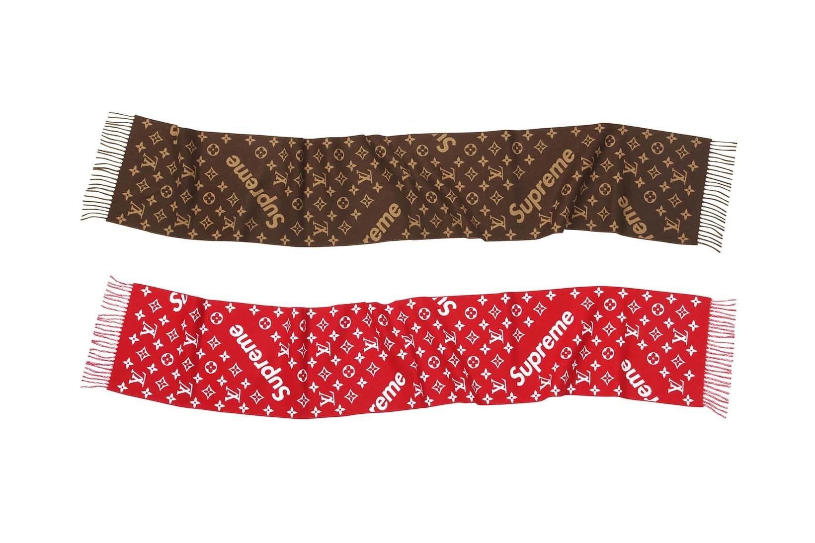 Supreme(シュプリーム)×Louis Vuitton(ルイ・ヴィトン) / モノグラム スカーフ(Monogram Scarf)