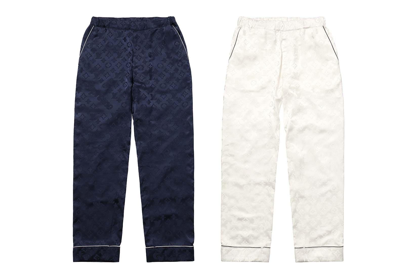 Supreme(シュプリーム)×Louis Vuitton(ルイ・ヴィトン) / ジャカード シルク パジャマ パンツ(Jacquard Silk Pajama Pant)