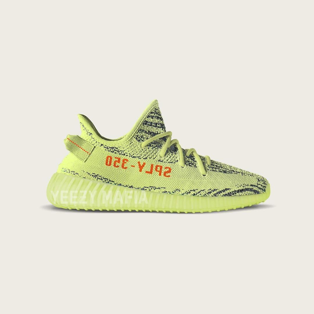 イージーブースト 350 V2 「Semi Frozen Yellow」