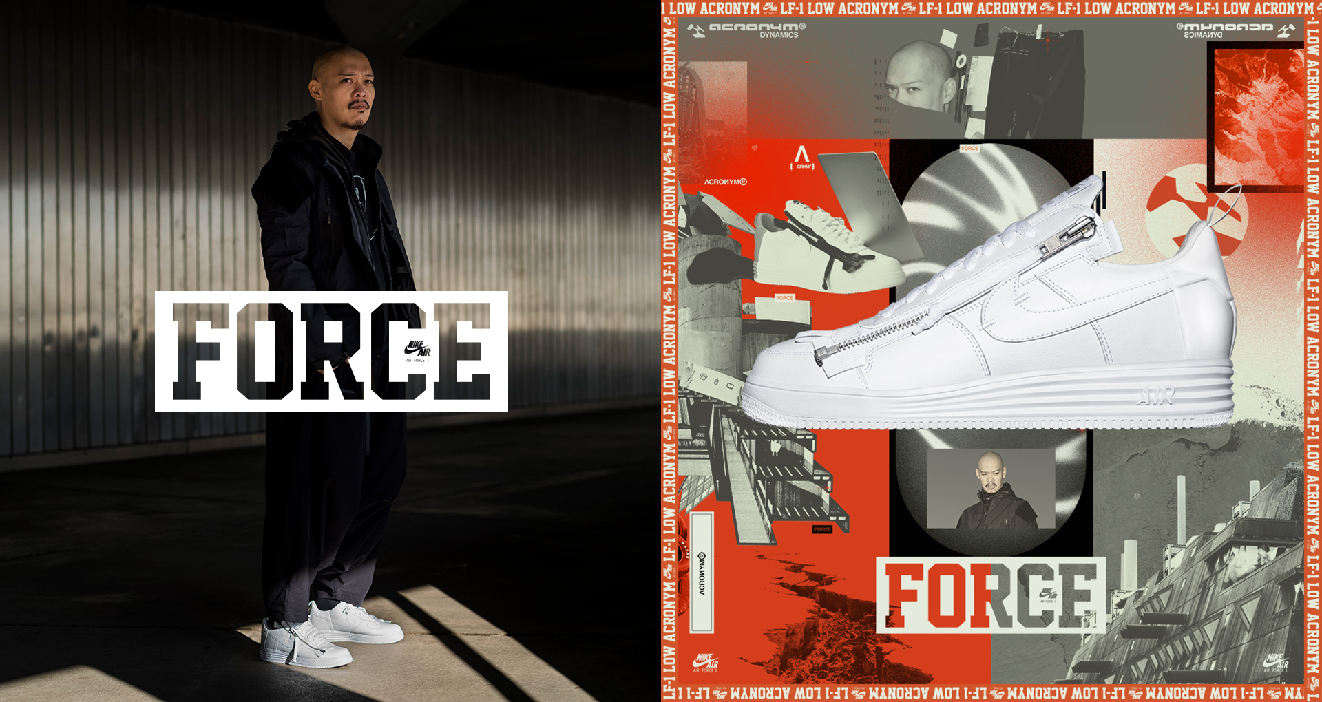 AF100 ランナー ルナフォース1 アクロニウム '17 byエロルソン・ヒュー