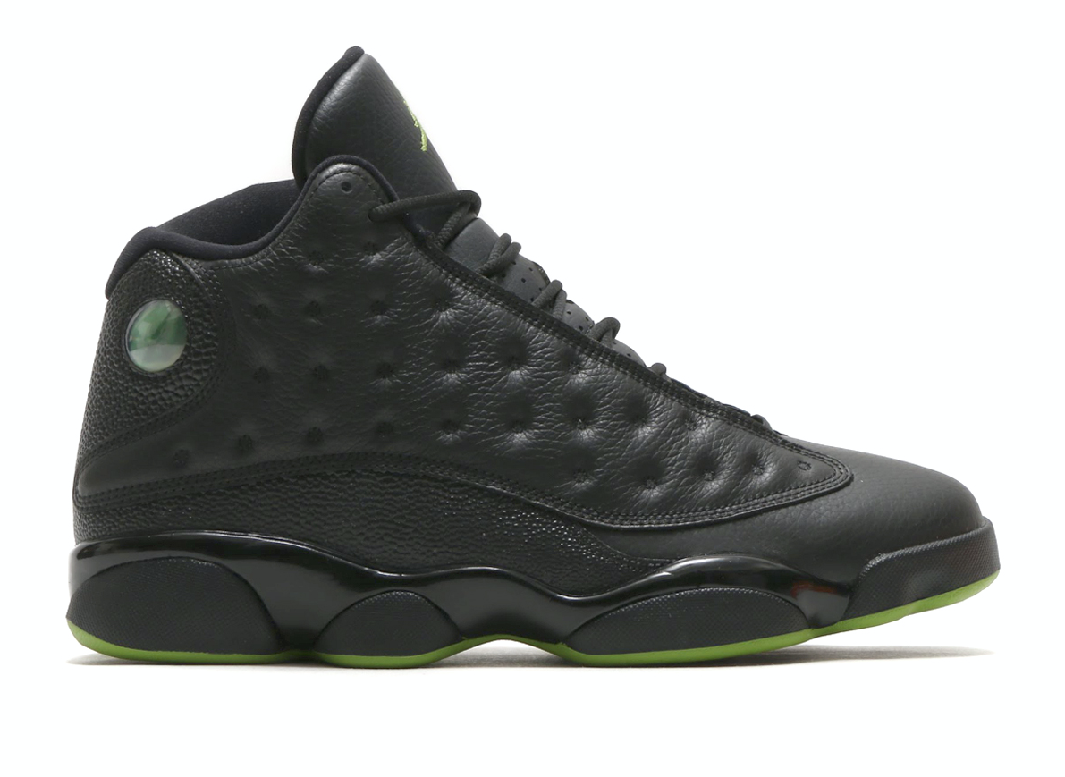 NIKE AIR JORDAN 13 RETRO  (ナイキ エア ジョーダン 13 レトロ)  BLACK/ALTITUDE GREEN