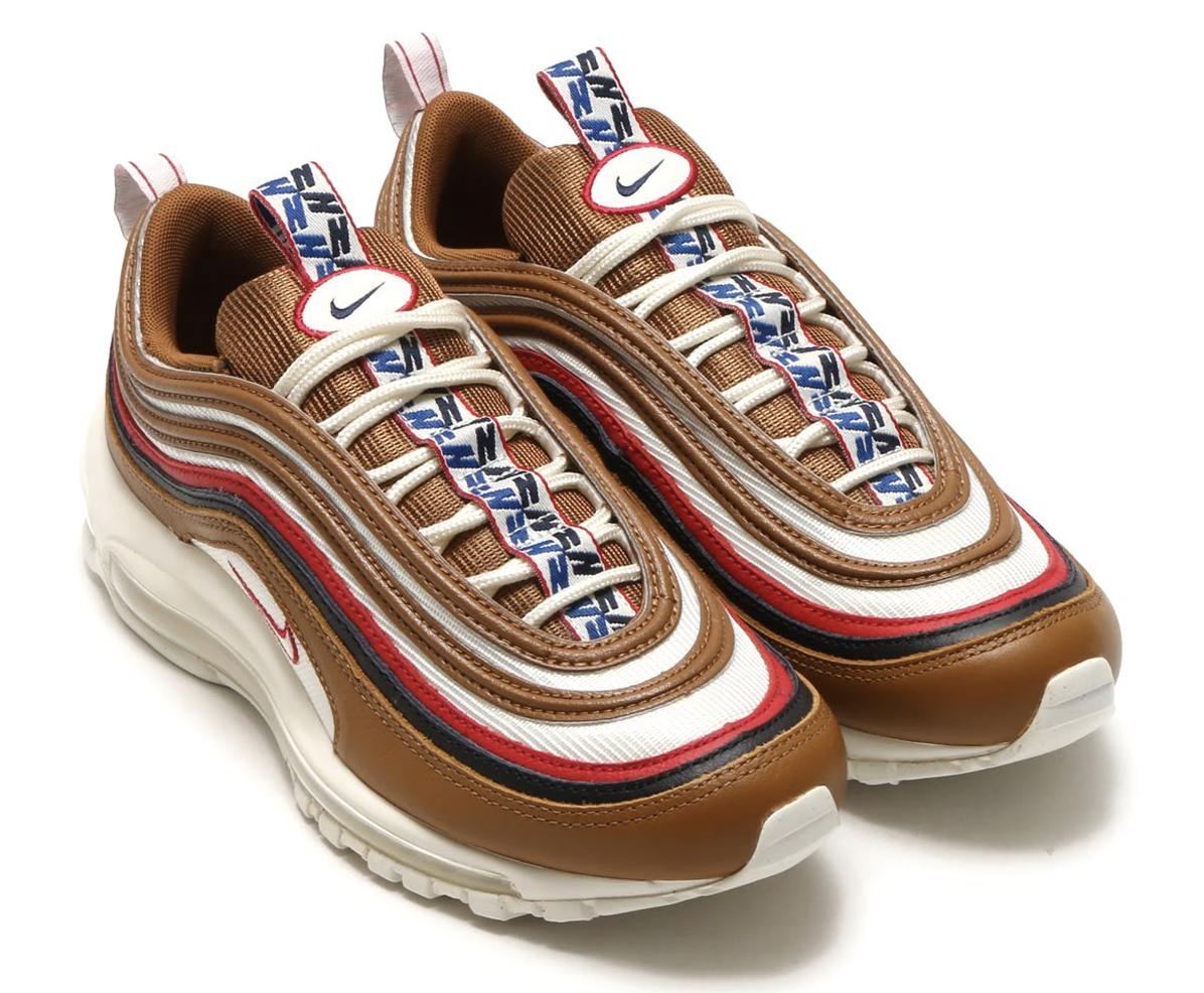 NIKE AIR MAX 97 TT PRM (ナイキ エア マックス 97 TT プレミアム) ALE BROWN/SAIL-GYM RED-BLACK