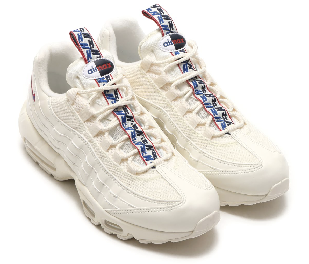NIKE AIR MAX 95 TT (ナイキ エア マックス 95 TT) SAIL/GYM BLUE-GYM RED