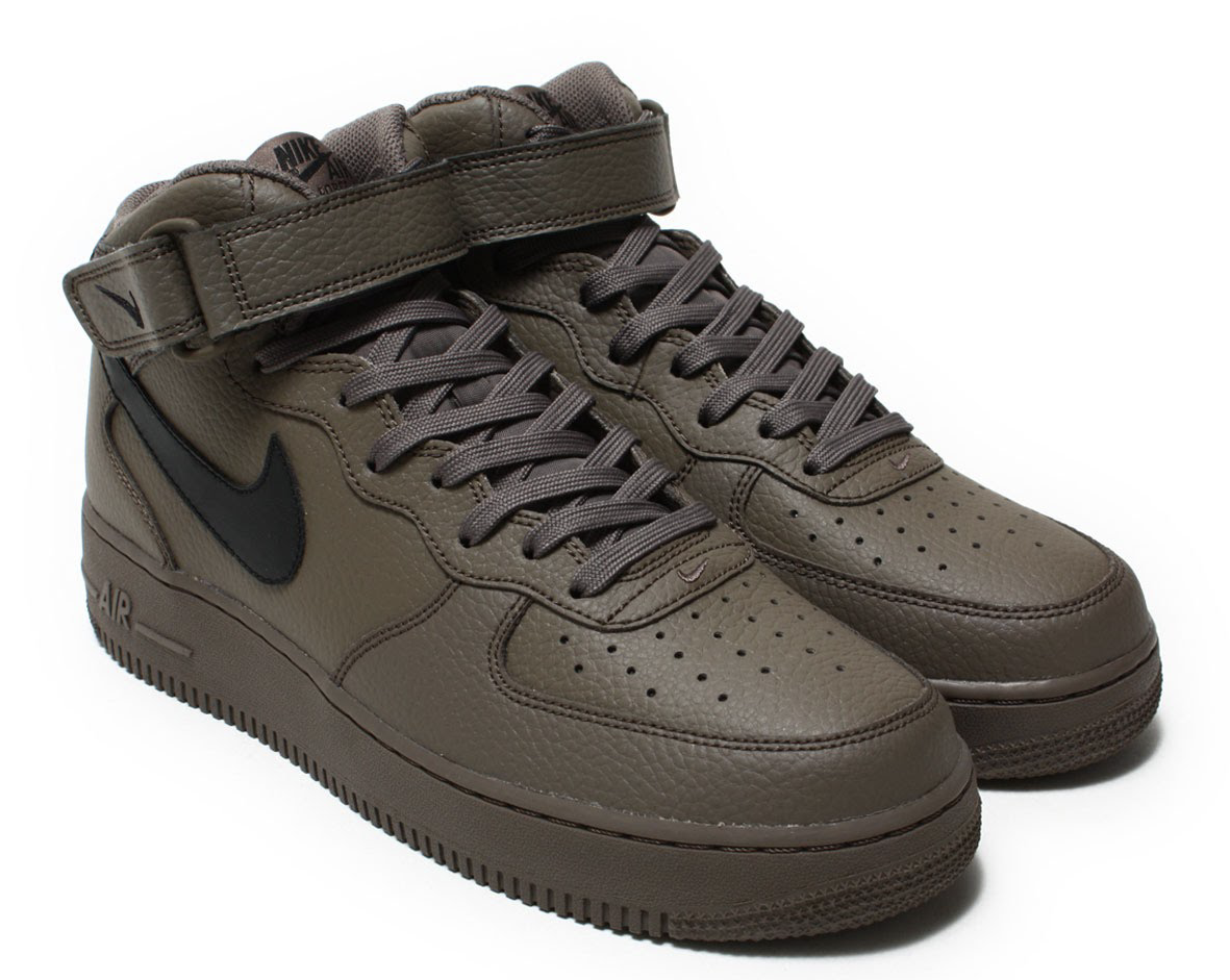 NIKE AIR FORCE 1 MID '07(ナイキ エア フォース 1 ミッド 07)RIDGEROCK/BLACK-RIDGEROCK