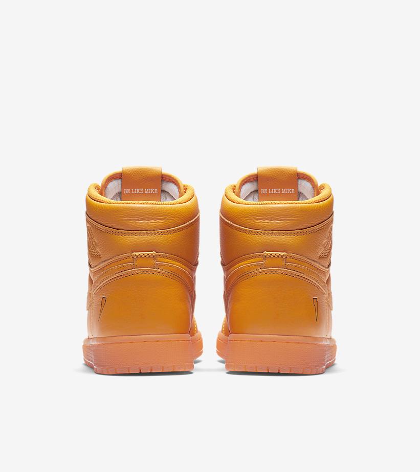 ナイキ × ゲータレード エアジョーダン1 LIKE MIKE オレンジ