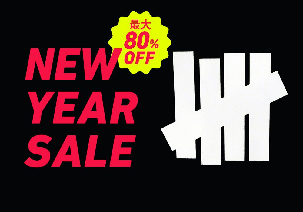 【最大80%OFF】UNDEFEATED楽天オンラインでNEW YEAR SALE開催中!