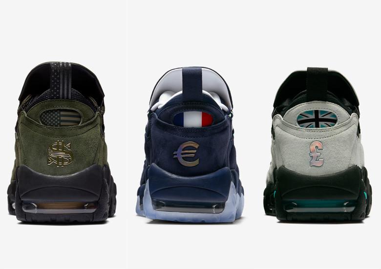 ナイキ エア モア マネー アメリカ・フランス・イギリス・日本の全4カ国モデル紹介