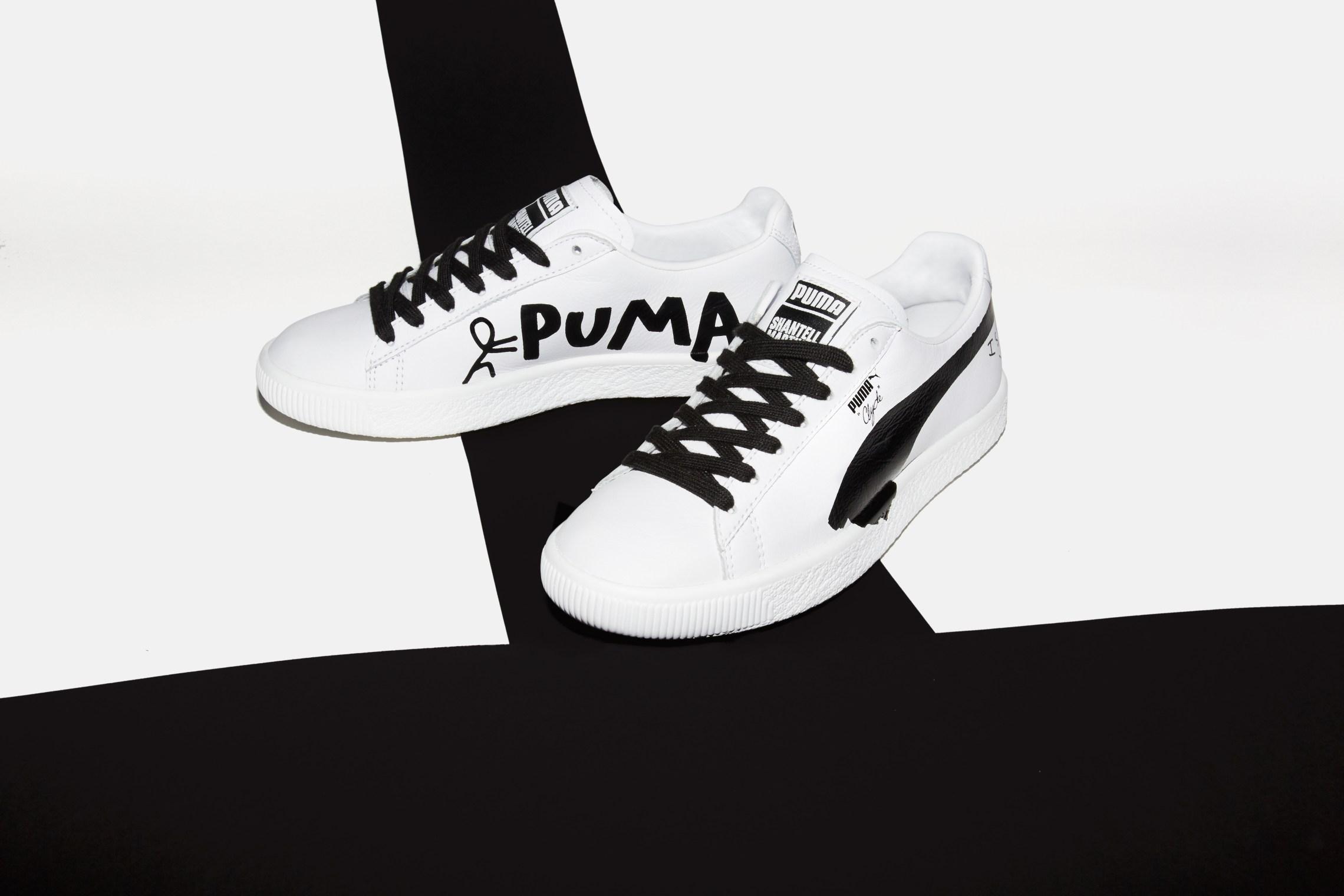 シャンテル・マーティン × プーマ 全4モデルコレクション