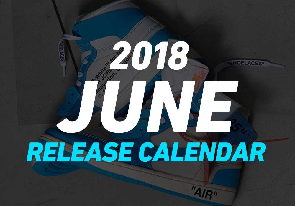 【6月発売スニーカー】2018年6月に発売予定の人気・新作スニーカーカレンダー