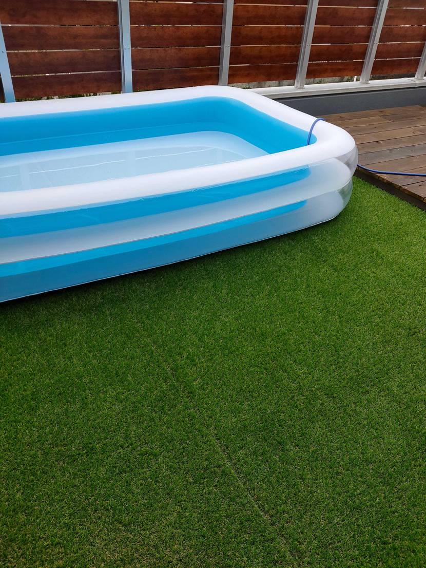 今年最後のお家プールを!! と、せっせと準備してたら抽選終わってた🤣 完全にど忘