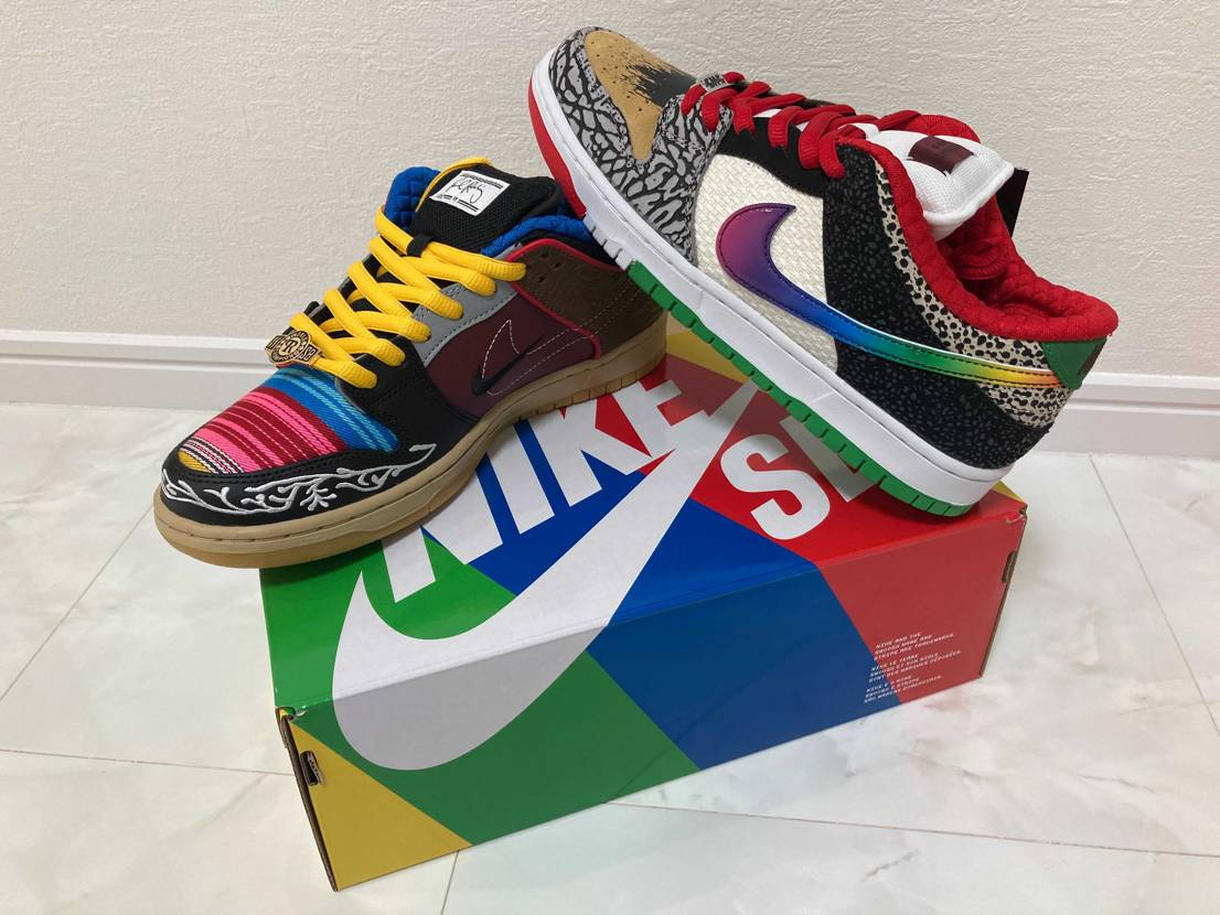 """NIKE SB DUNK LOW """"WHAT THE P-ROD"""" 今週の当て"""
