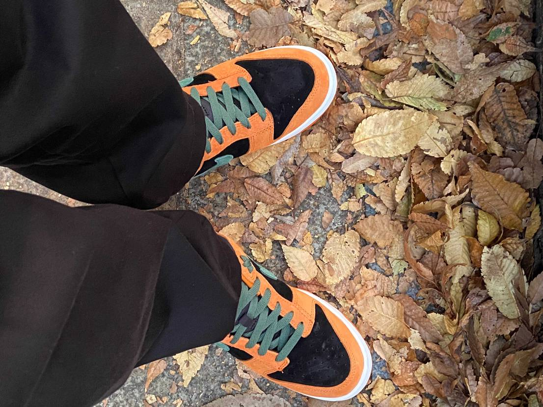 おはようございます🍑おやすみなさい😴 すっかり秋ですね🍁