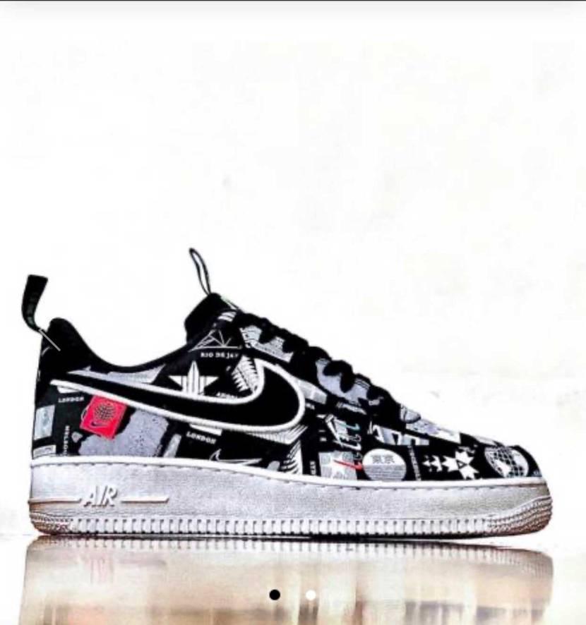"Nike Air force1Low  ""ワールドワイド オリンピックス"""