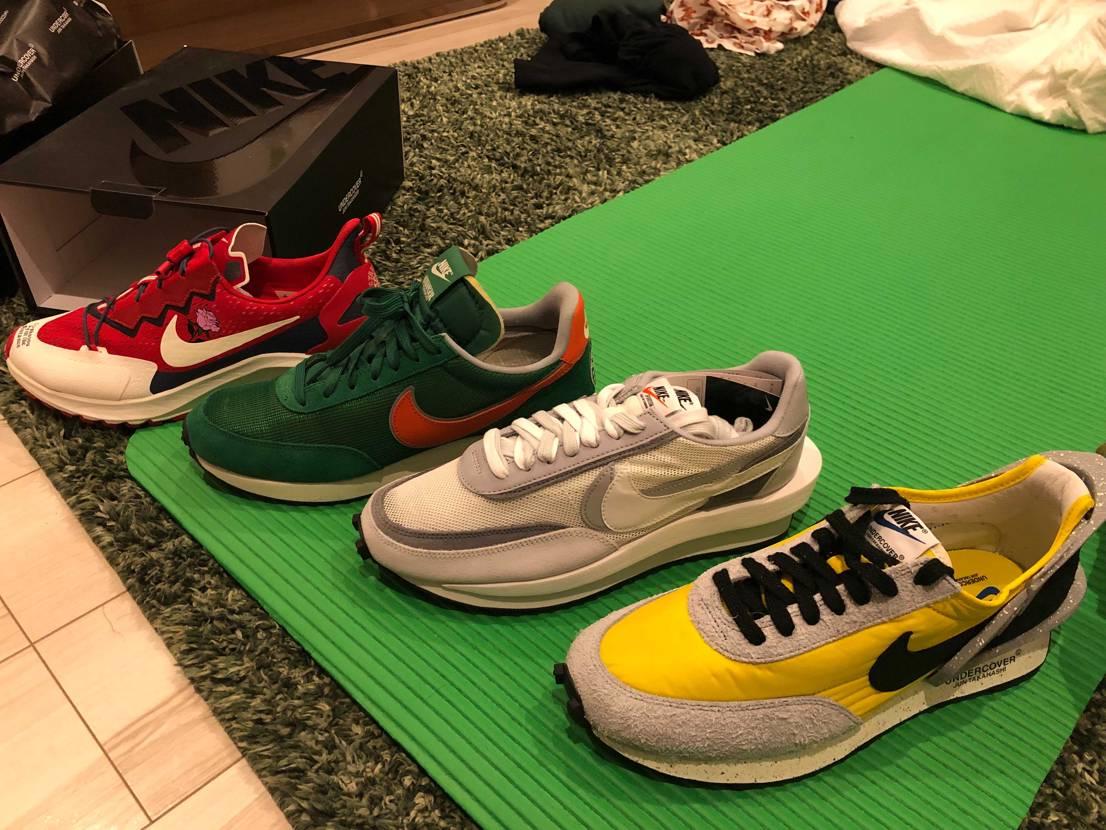 ほんとスニーカー&靴が好き  買いあさり履いては底は都度アルコール消毒しつつ