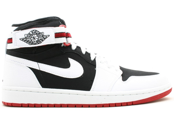 Jordan 1 Retro High Strap White Black Varsity Red
