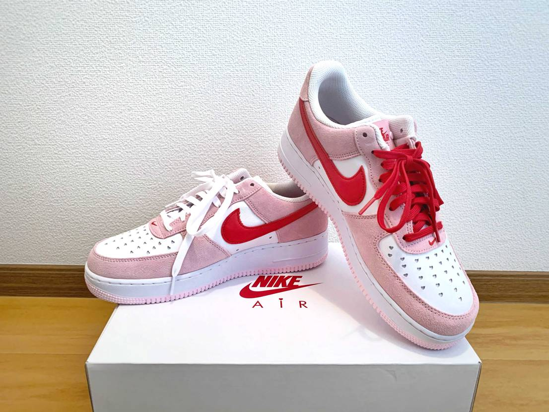 Happy Valentine's Day❤️  #nike #airfor