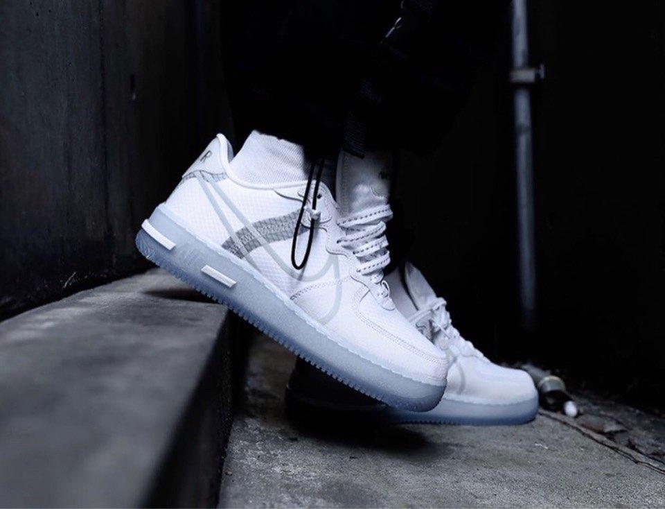 Nike Air Force 1 Reactの新しいやつ結構かっこいいな! 今