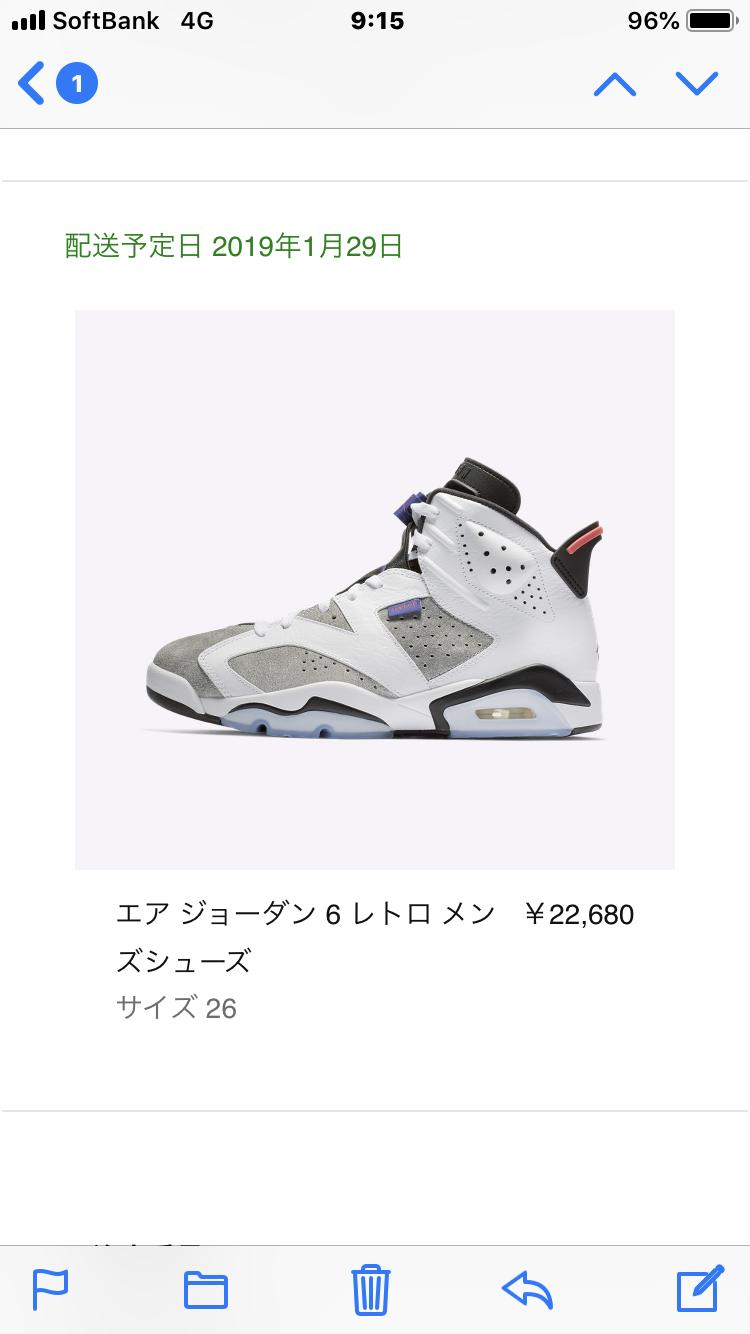 sneakers初ゲット🎉 #ジョーダン6#ジョーダン