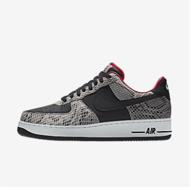 NIKE BY YOU AIR FORCE 1 LOW UNLOCKED