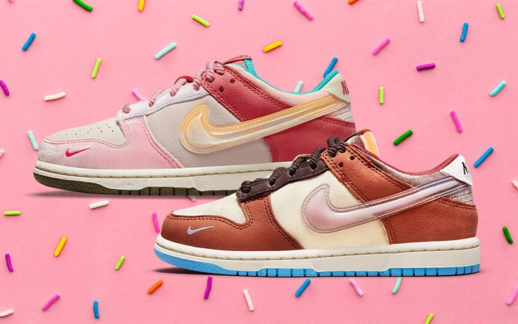 """【Social Status × Nike】Dunk Low """"Donuts"""""""