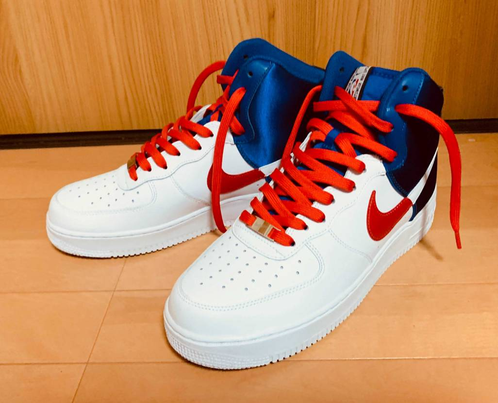 AIR FORCE 1 HIGH '07 LV8のCLIPPERSカラーが届きま