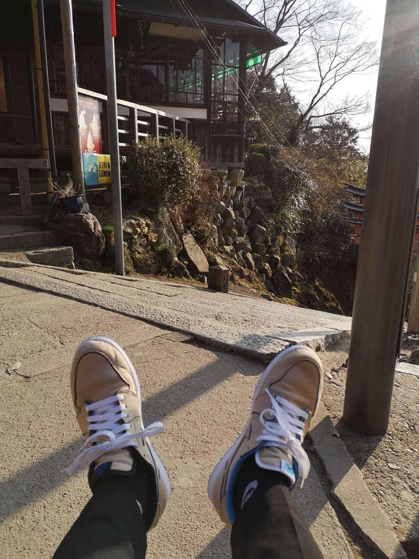 伏見稲荷神社に行ってきました!  …そんな投稿を見ながら、観光で今朝京都についた
