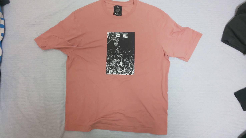 [追記あり]Union TシャツLのサイズ感 ナイキDryfit Lサイズとの比