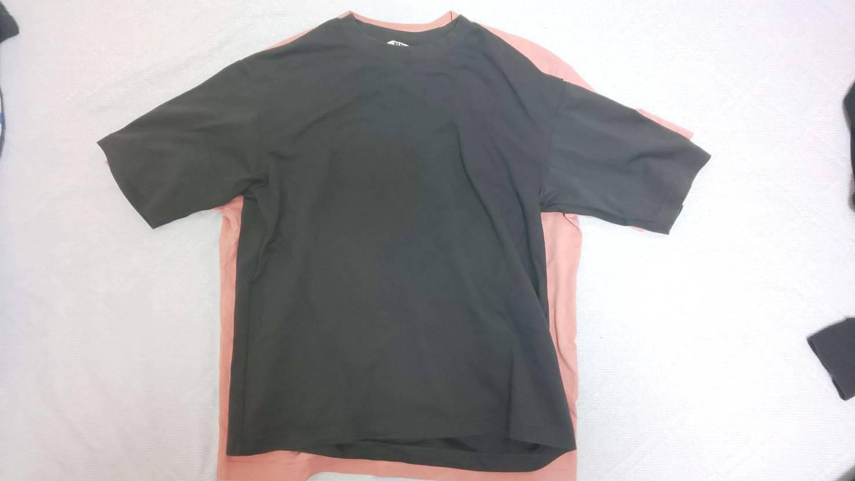 [追記あり]Union TシャツLのサイズ感 ナイキDryf