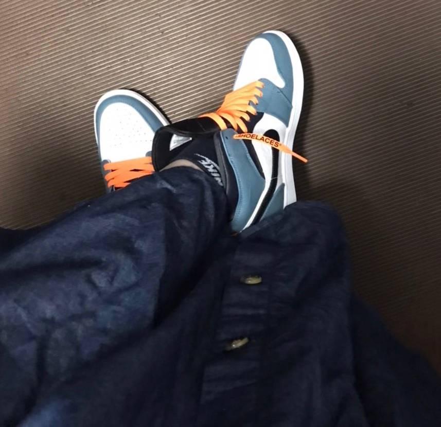 スニーカーもオレンジの紐も届きました♪ かわいい!  買えてよかった♪