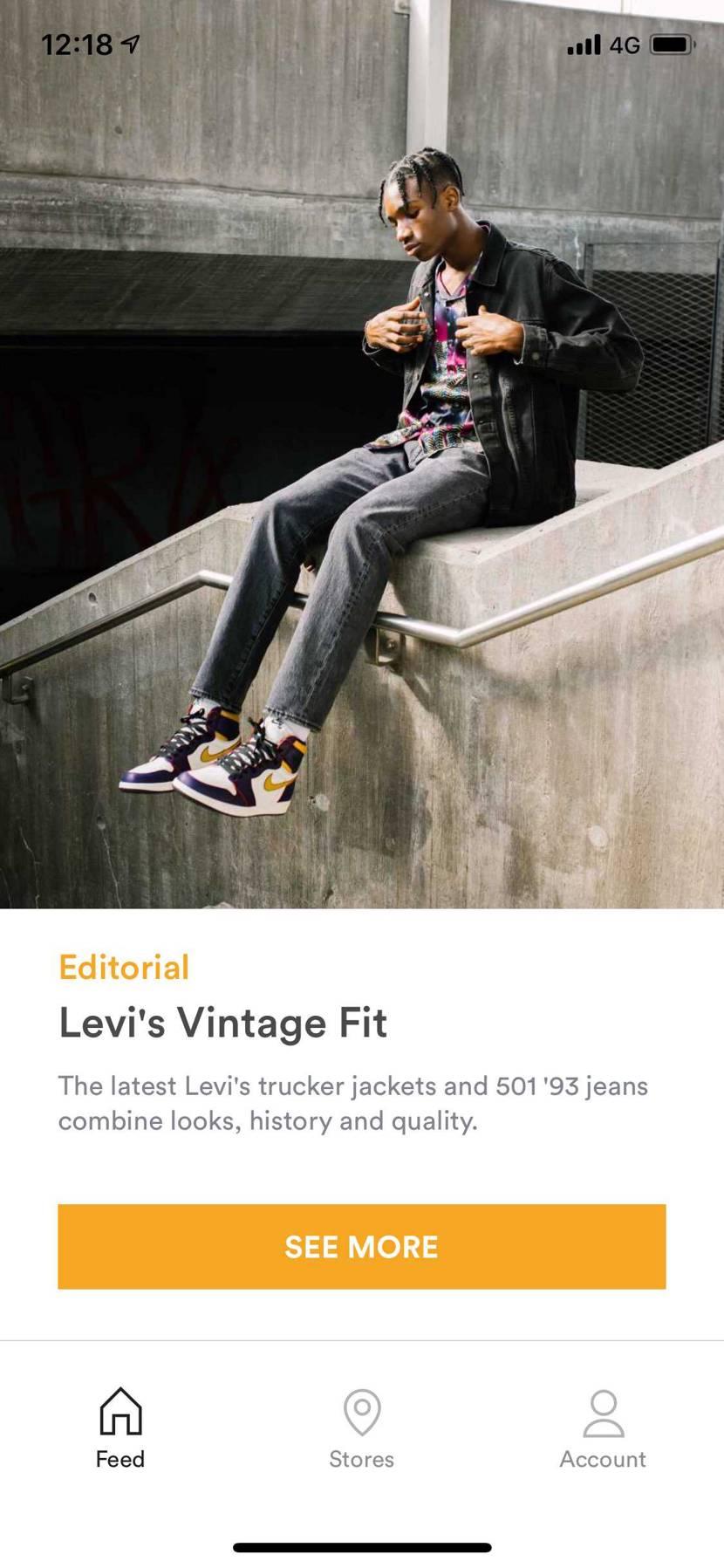 SNSでLEVI'Sのビンテージモデルの写真が載っていた‼︎  でもそんな物