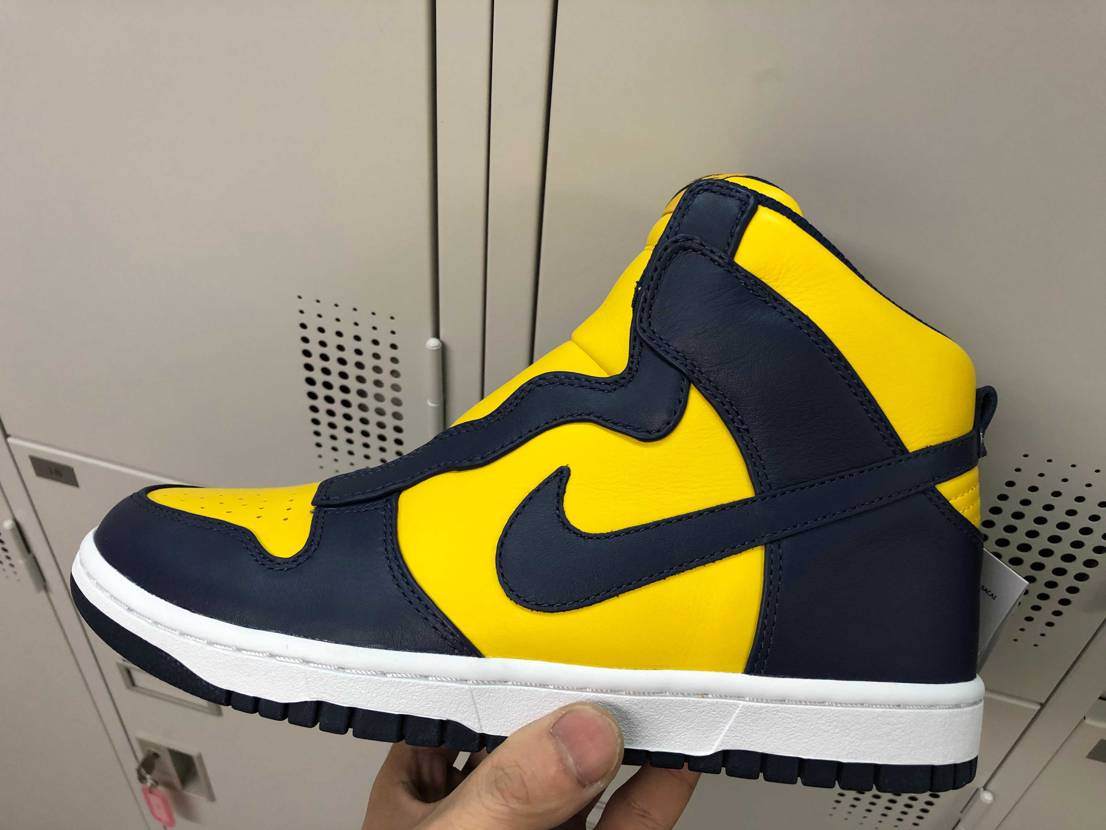 Nike×sacaiのdunkミシガンのカスタムが完了✨  先日の投稿からシ