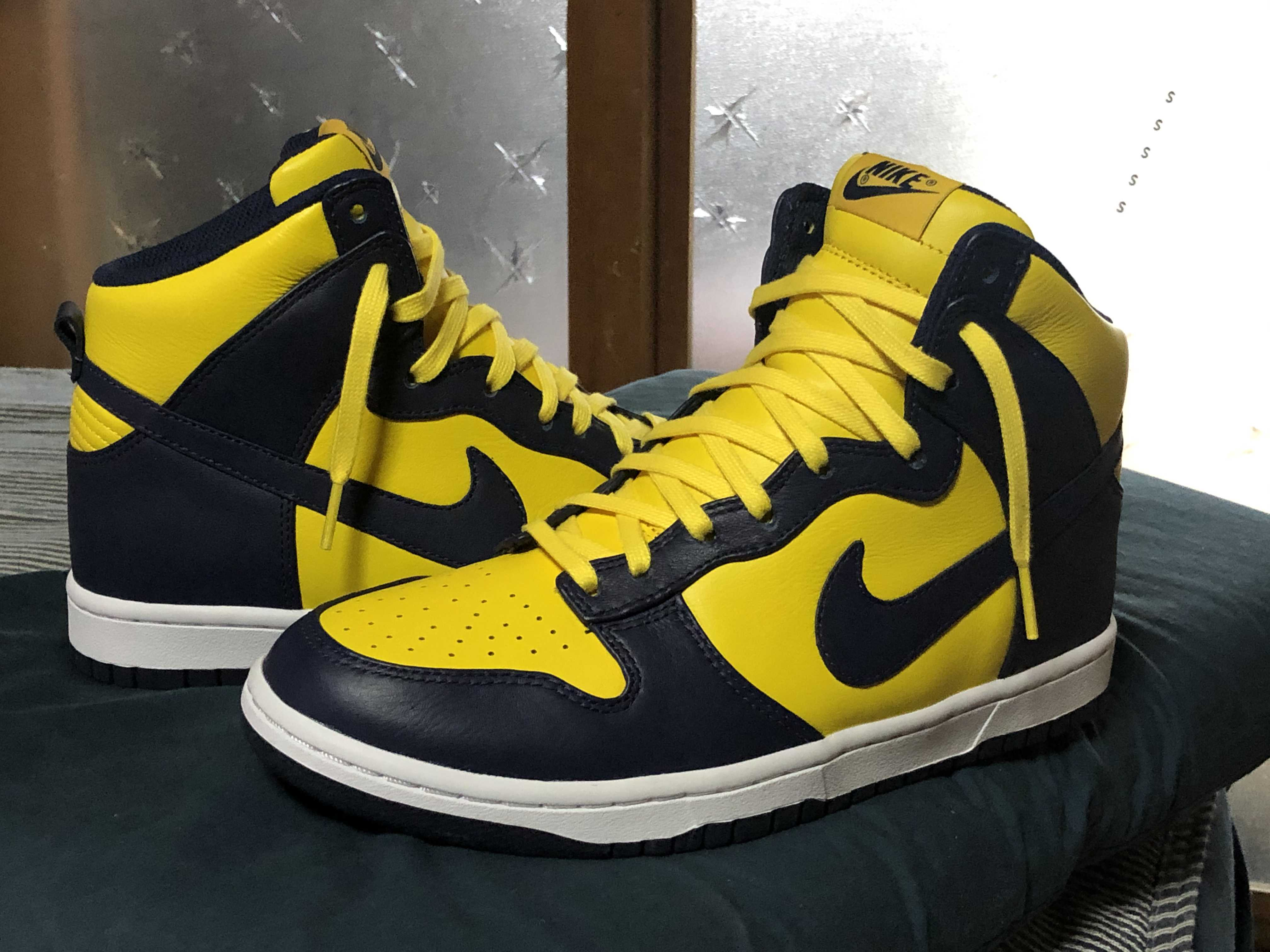Nike×sacai DUNK high lux Michigan
