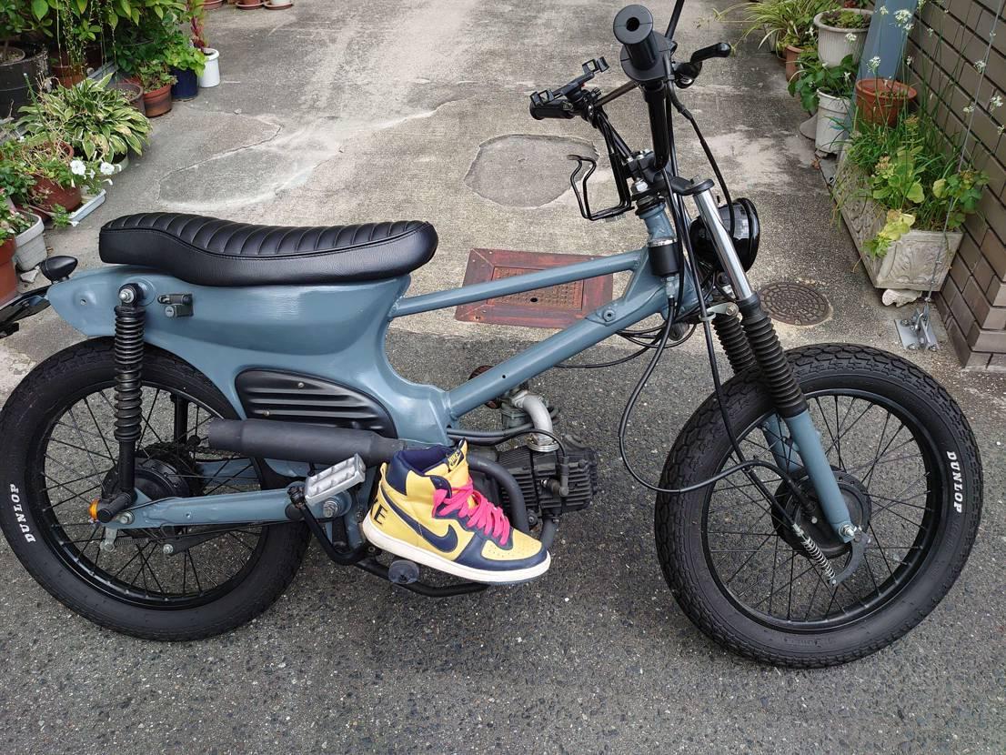 雨もやんだし、久々にバイク✨ バイクの時はハイカットʷʷ ターミネーターのヴィン