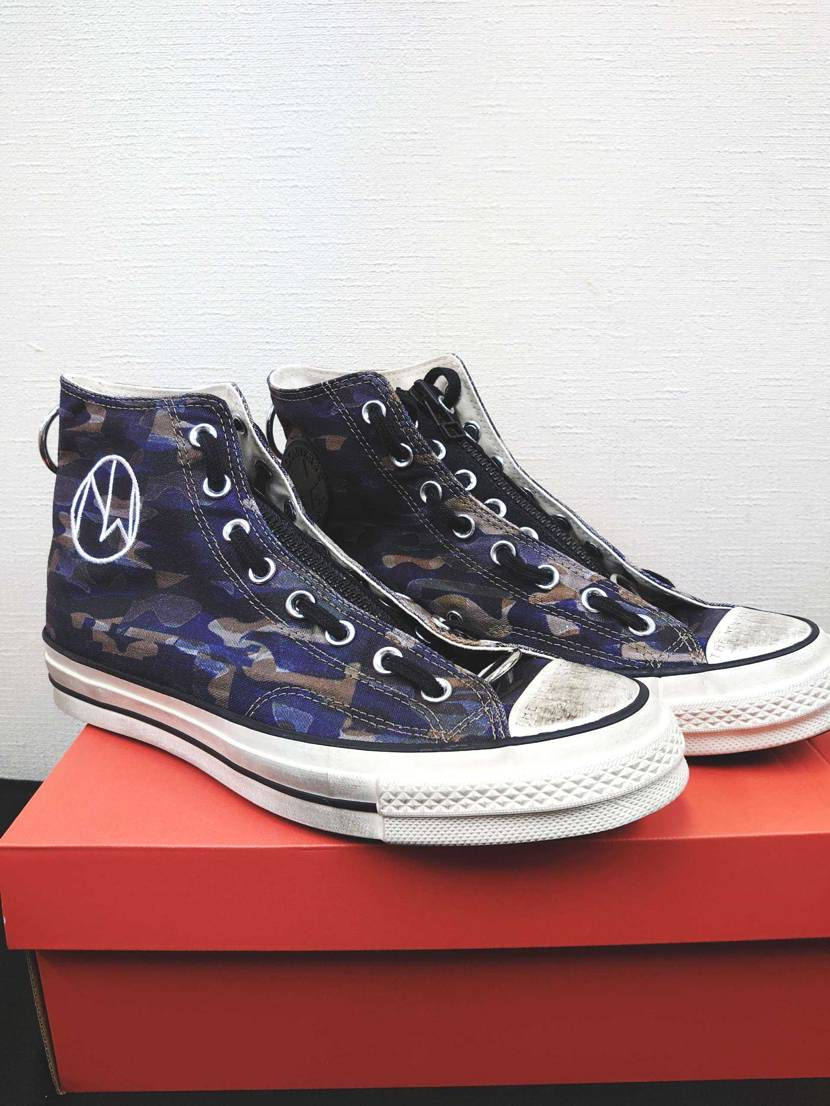 SNSから購入したUndercover×CONVERSEが届きました✈️😎  海