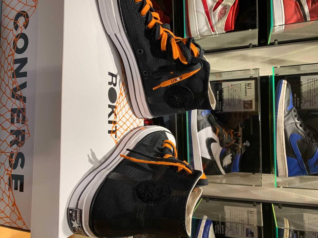 ロキットct70届きました👍 オレンジとブラックのロキット