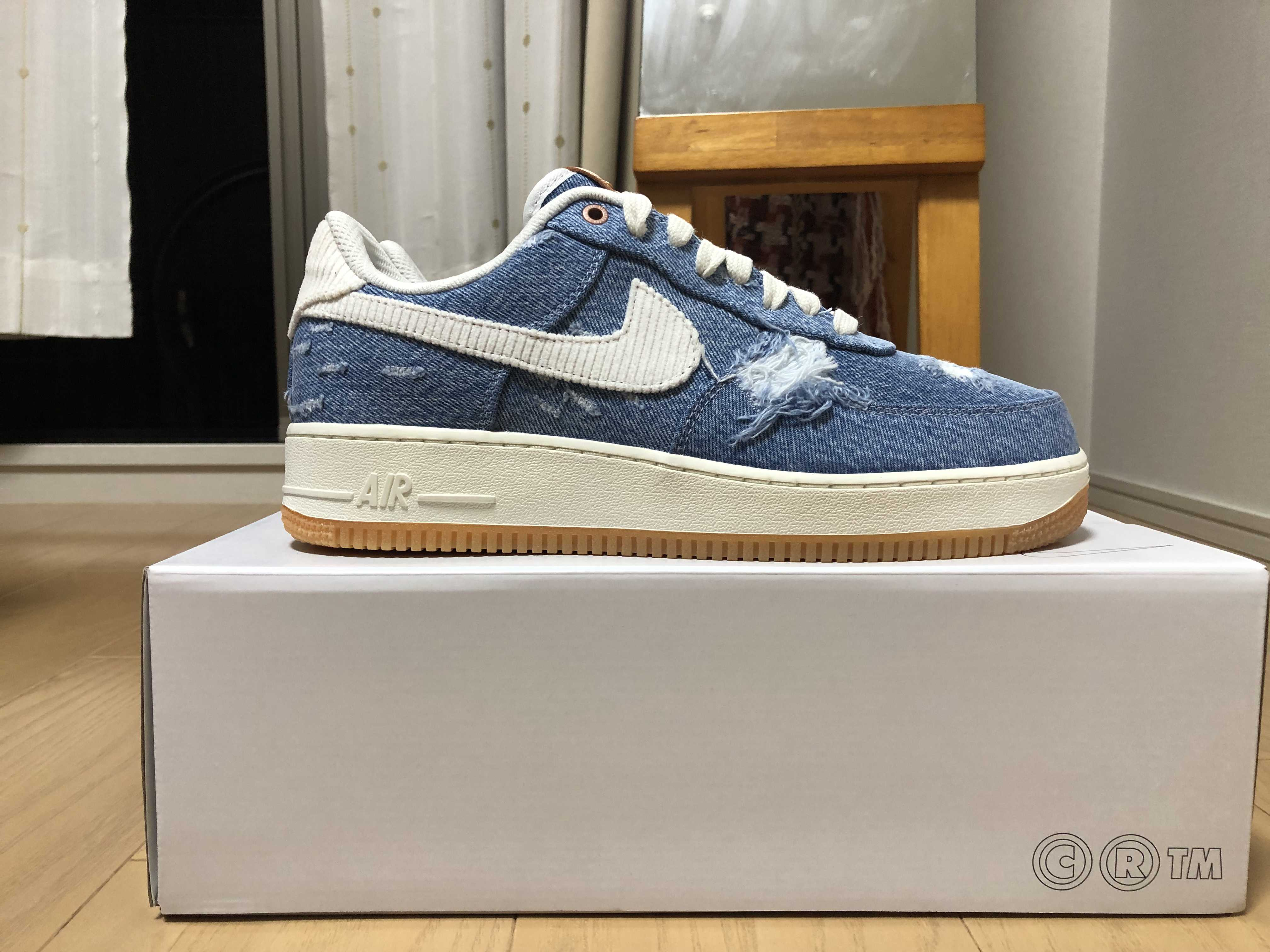 Levi's ×NIKE BY YOU AIR FORCE 1 LOW