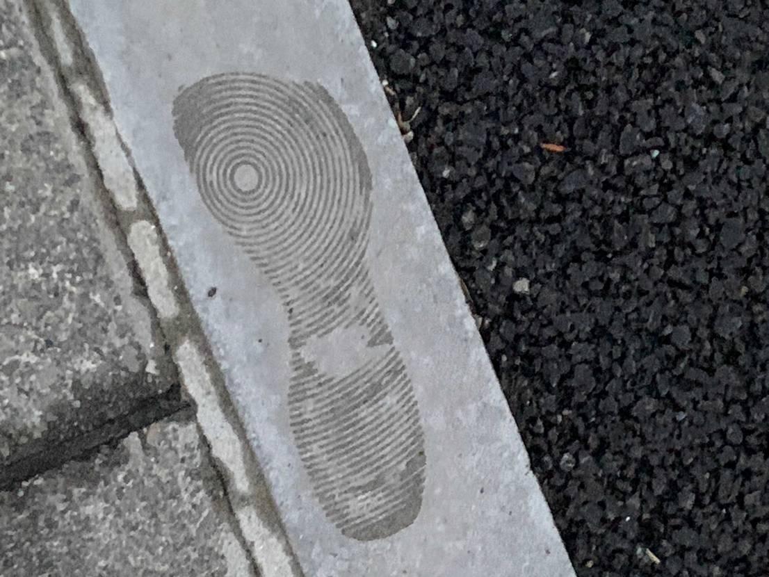 多分誰も理解してくれないけど雨上がり好きな靴履いてる時こういうとこについた足跡見