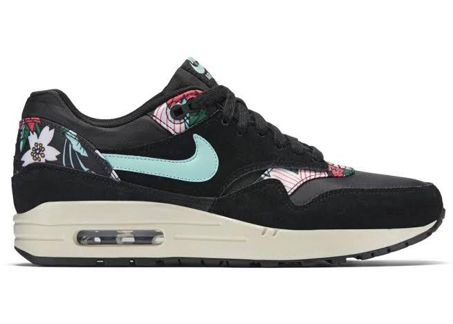 Nike Air Max 1 Aloha Black