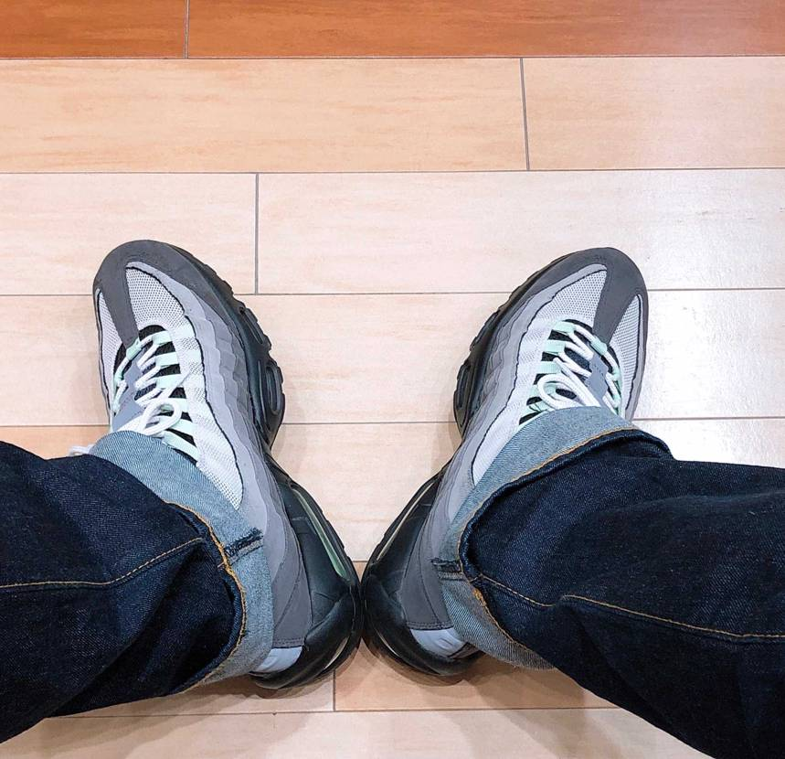 today's kicks!  やっぱり95大好き🥺  今年こそはイエロ