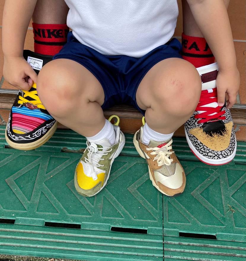 息子の幼稚園の親子登園行ってきました。  コロナで1人しか行けなかったのに、