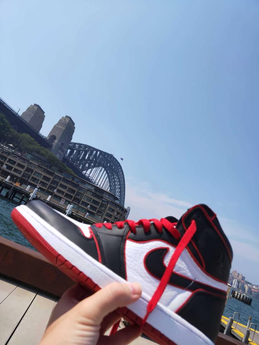 footlocker Sydney にてGot'em 写真より実物の方が遥かにか