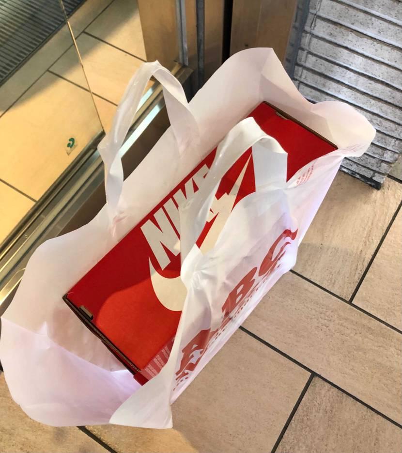 ABCマート新宿本店で13時からパンダとUNCのダンクがリス